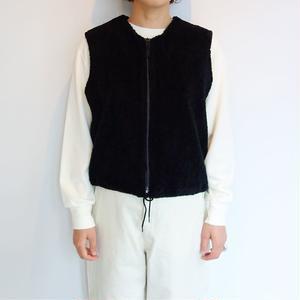 Needles Sportwear Zipped Crew Vest - pe/c curl