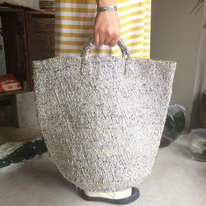 RECTANGLE Silver Basket (Big Tote)