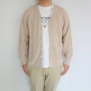 comm.arch. Hand Framed Cotton/Linen Cardigan
