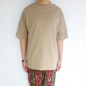 blurhms ROOTSTOCK Heavyweight & Soft Loose Fit Boat-neck Tee