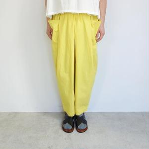 Slow Hands cotton twill wide beach pants