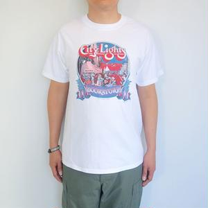 "City Lights Book Store S/S Tee ""1975 PAT RYAN"""