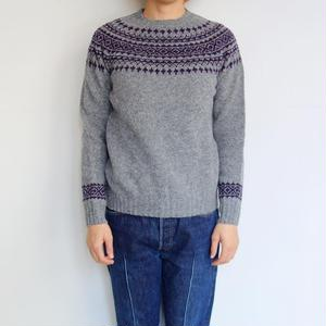 NOR'EASTERLY L/S WIDE NECK 2TONE NORDIC