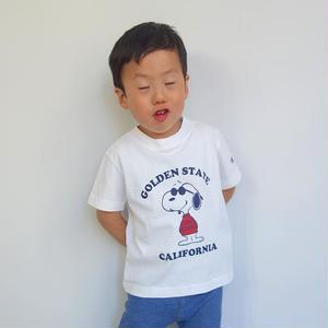 Champion kid's PEANUTS S/S TEE