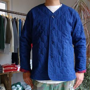 Slow Hands Indigo Quilt N/C Jacket