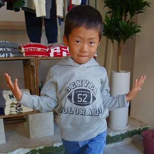 Champion kid's SWEAT PARKA