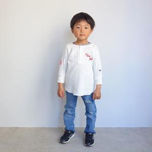 Champion kid's MESH HENRY TEE