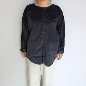 Slow Hands stretch velvet painter jacket
