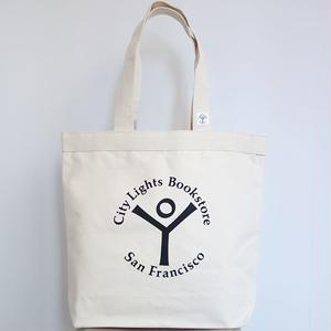 City Lights Book Store Logo Tote Bag