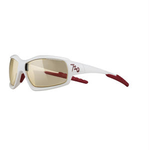 720 armour Cross B320-2-F/J76-Glossy White/Photochromic Yellow調光レンズ