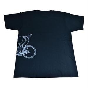 CNT01 ちゃりねこTシャツ Run through