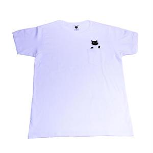 CNT02 ちゃりねこTシャツ Jump out