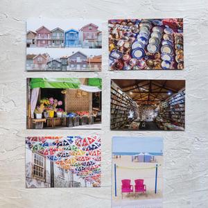 【旅するポストカード】ポルトガルの町