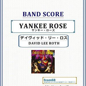 デイヴィッド・リー・ロス(DAVID LEE ROTH) / ヤンキー・ローズ(YANKEE ROSE) バンド・スコア(TAB譜)  楽譜