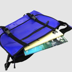 030 MESSENGER BAG _blue