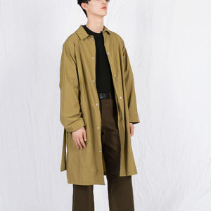 Belted Trench Coat (3colors)