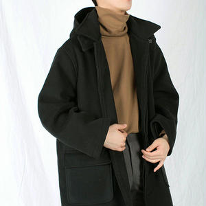 Hoody over-fit coat (3colors)