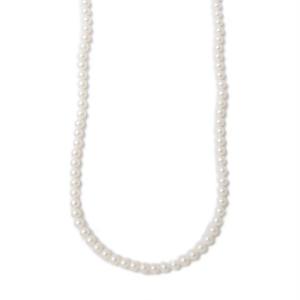 パールネックレス ホワイト 6.0-6.5mm/120cm