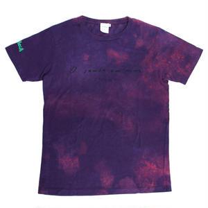 【レディース  Tシャツ】TOYONO 黒髪のサンバ  x  toriMoiA  コラボ  T-Shirts / Purple