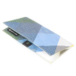【FEM009ATR】paperwallet/ペーパーウォレット-タイベック素材 クラッチ 財布-ARTIST CLUTCH-AZUMI MITSUBOSHI
