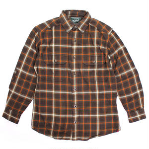 WOOLRICH(ウールリッチ)【6111-DWP】-L/S SHIRT-MNS OXBOW BEND FLNNL-BROWN/ORANGE