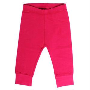 【SFA-GPA-RAS】PACT(パクト)ベビー オーガニックコットン パンツ BABY-GIRL'S-CUFFSTER PANTS-RASPBERRY