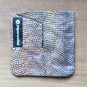 【POU015MNT】paperwallet/ペーパーウォレット-MAGIC COIN POUCH-MICRONAUT タイベック® Tyvek® 紙の財布