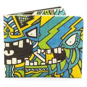 【ART011CHA】paperwallet/ペーパーウォレット-Artist Wallet-CHATO タイベック素材 紙の財布