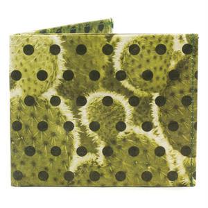 【WAL013PCA】paperwallet/ペーパーウォレット-タイベック素材-SEWN WALLET-POLKACTUS 紙の財布