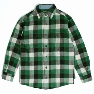 WOOLRICH(ウールリッチ)【6135-GBF】-L/S SHIRT-MNS-WOOL BUFFALO SHI-GREEN BUFFALO