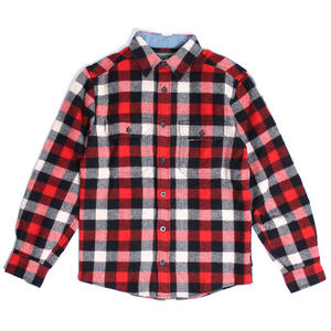 WOOLRICH(ウールリッチ)【6135-RWB】L/S SHIRT-MNS-WOOL BUFFALO SHI-RED/WHITE/BLACK PLAID