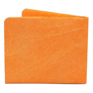 【SOL005ORA】paperwallet/ペーパーウォレット-Solid Wallet-ORANGE タイベック素材 紙の財布