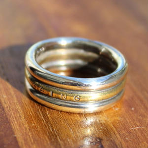 Banding Ring(Narrow) SV×BRASS