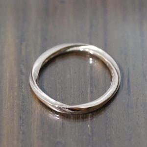 fluent ring(K10 Pinkgold)