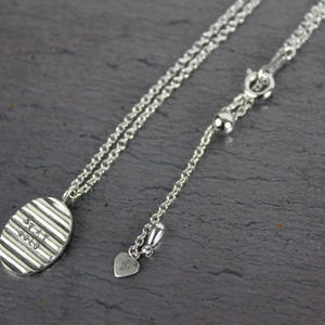 Chip Necklace#silver(チェーンセット)