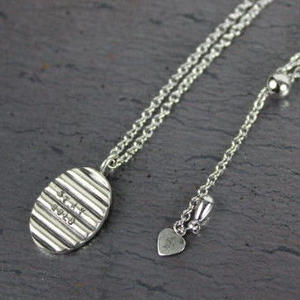 Chip Necklace#silver(TOP単体)