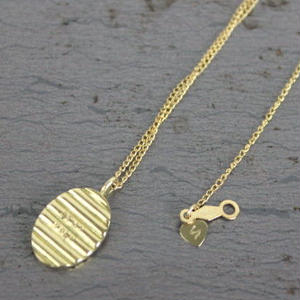 Chip Necklace#GOLD(チェーンセット)