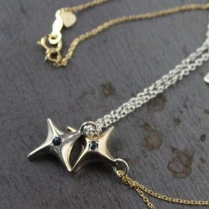 shootingstar Necklace#GOLD(チェーンセット)