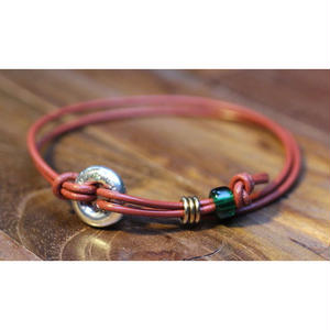 Portion Bracelet(BRN Leather)