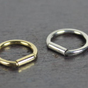 Ring Pierce(Gold) 1P