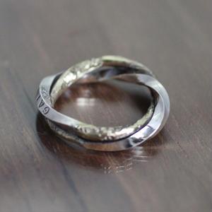 meld Ring(SV×BRASS)