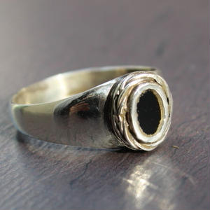 Small Mirrorstone  Ring