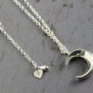 Crescent Necklace#silver(チェーンセット)