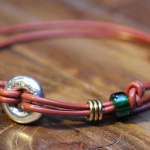 Portion Bracelet(BRN Leather)