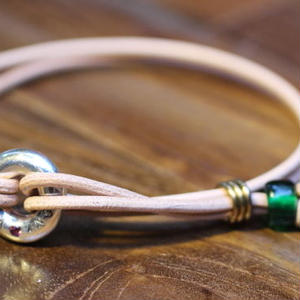 Portion Bracelet(NAT Leather)
