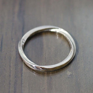 fluent ring(K10 Yellow gold)