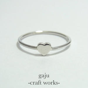 wire ring / heart