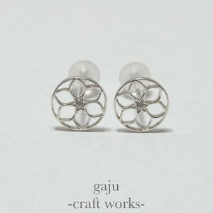 gaju trademark pierced earring ver.circle