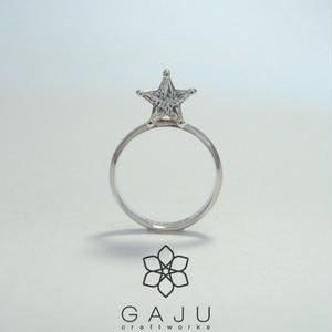スタージルコニアリング (star CZ ring)