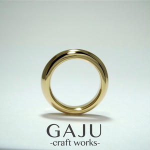 thickish ring ver.Gold Plated